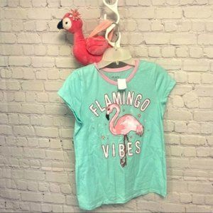 New Flamingo vibes shirt with purse